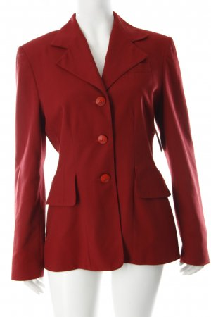 Bamboo Jacket dark red classic style
