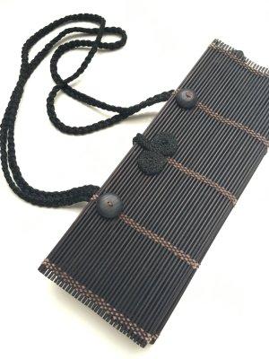 Bambus Handtasche schwarz