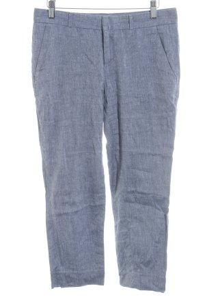 Banana Republic Pantalon 3/4 gris rayure fine style décontracté