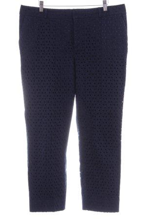 Banana Republic Jersey Pants dark blue cotton