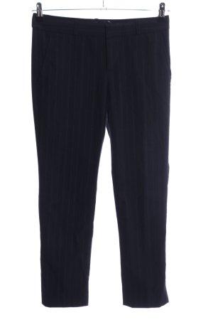 Banana Republic Pantalon de costume noir motif rayé style d'affaires