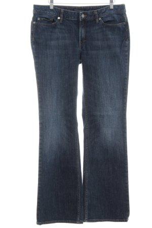 Banana Republic Boot Cut Jeans blau Casual-Look