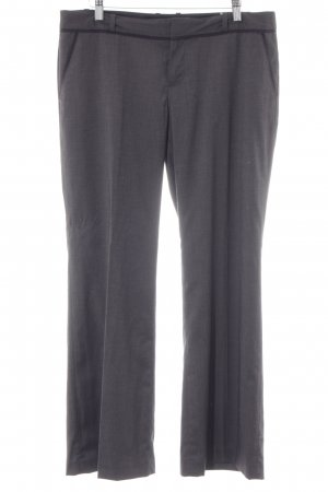 Banana Republic Bundfaltenhose anthrazit Business-Look