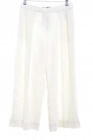 Banana Republic Pleated Trousers pale yellow elegant