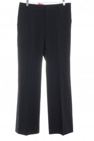 Banana Republic Bundfaltenhose schwarz Business-Look