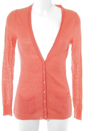 Banana Republic Cardigan orange foncé molletonné