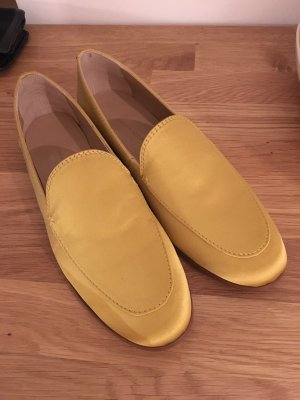Banana Republic Mocassins doré-orange doré matériel synthétique