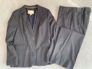 Banana Republic Business Suit anthracite mixture fibre
