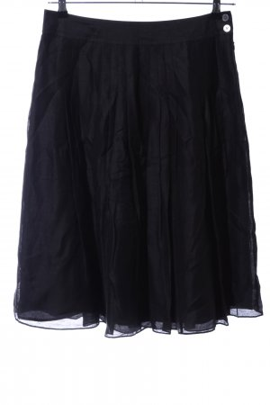 Banana Republic Plaid Skirt black business style