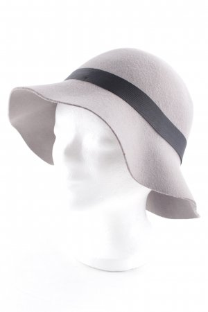 Banana Republic Felt Hat black-grey brown extravagant style