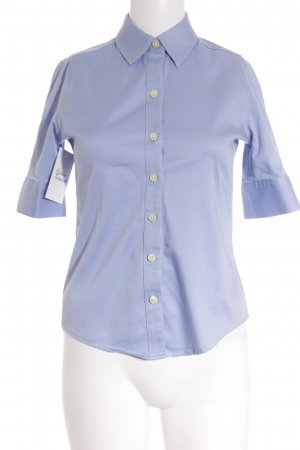 Banana Republic Blouse brillante bleu azur style simple