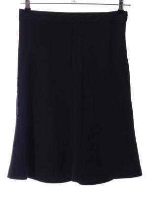 Banana Republic Flared Skirt black business style