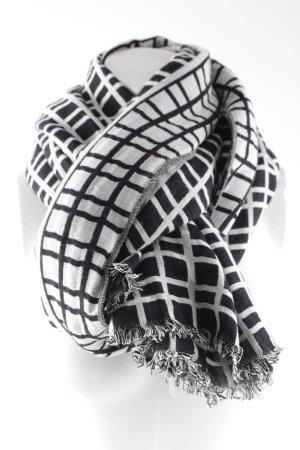 Banana Republic Neckerchief black-white check pattern simple style