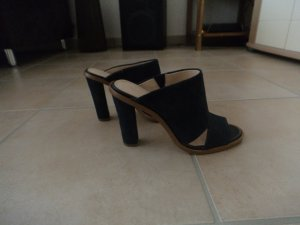 Banana Republic High Heel Sandal blue suede
