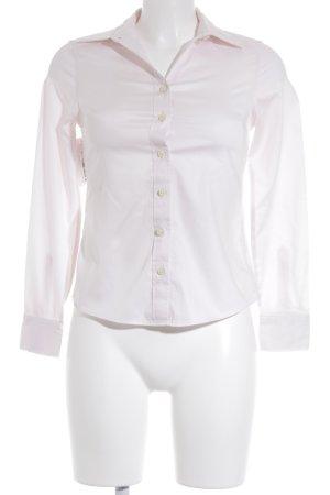 Banana Republic Blusa-camisa rosa empolvado estilo sencillo