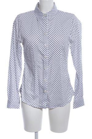 Banana Republic Shirt Blouse white-black allover print casual look