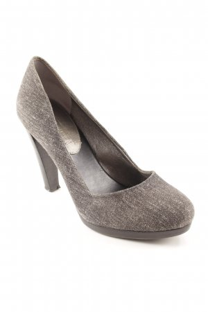 Banana Republic High Heels grey-black elegant