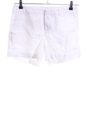 Banana Republic High-Waist-Shorts weiß Casual-Look