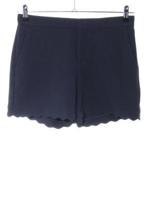 Banana Republic High-Waist-Shorts blau Casual-Look
