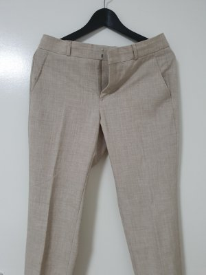 Banana Republic Pleated Trousers light brown-beige