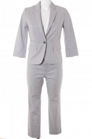 Banana Republic Hosenanzug hellgrau meliert Business-Look