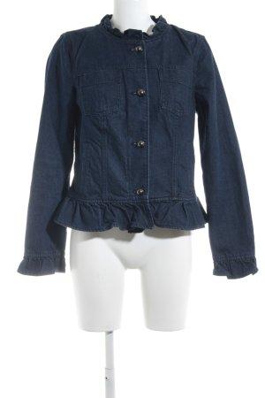 Banana Republic Spijkerjack donkerblauw Jeans-look