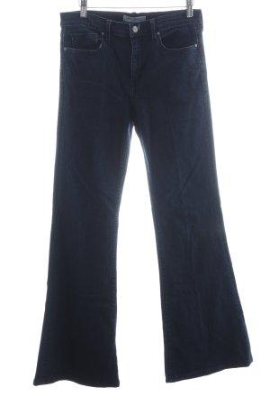 Banana Republic Jeansschlaghose dunkelblau