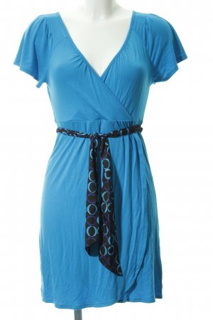 Banana Republic Jerseykleid neonblau Casual-Look