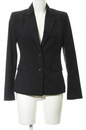 Banana Republic Kurz-Blazer dunkelblau Nadelstreifen Business-Look