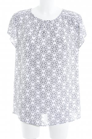 Banana Republic Short Sleeved Blouse allover print casual look