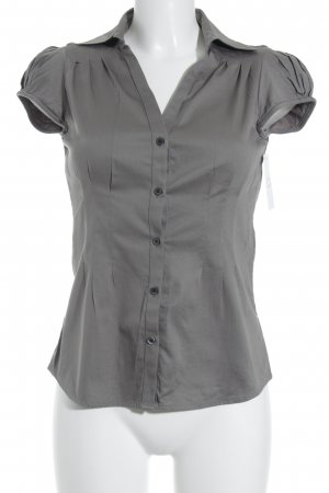 Banana Republic Kurzarm-Bluse grau Casual-Look