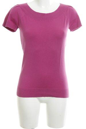 Banana Republic Short Sleeve Sweater pink casual look