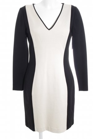 Banana Republic Longsleeve Dress black-cream business style