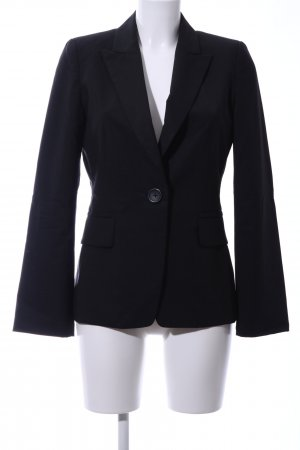 Banana Republic Long-Blazer schwarz Business-Look