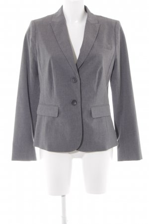 Banana Republic Long-Blazer grau meliert Business-Look