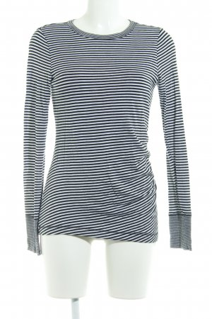 Banana Republic Longsleeve black-white striped pattern casual look