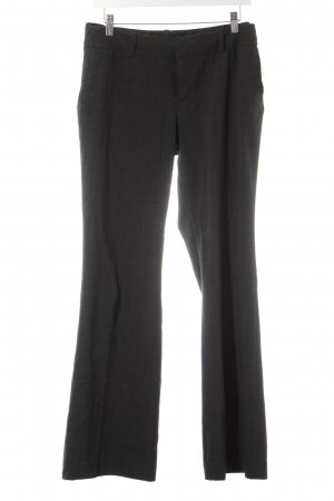 Banana Republic Marlene Trousers black-grey check pattern business style