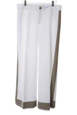 Banana Republic Marlene Trousers white-khaki elegant