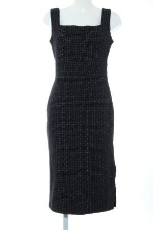 Banana Republic Midi Dress black check pattern casual look
