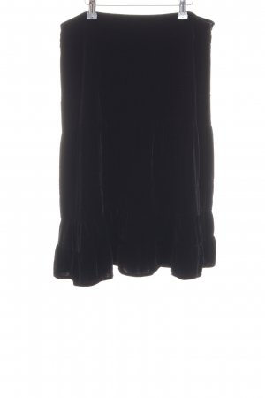 Banana Republic Falda midi negro estilo «business»