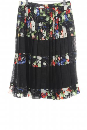 Banana Republic Midi Skirt floral pattern elegant