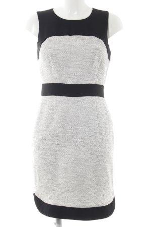Banana Republic Mini vestido negro-gris claro elegante