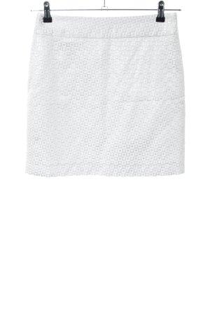Banana Republic Miniskirt white-light grey allover print casual look