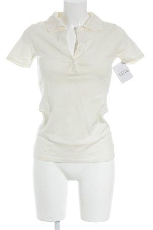 Banana Republic Polo-Shirt creme Casual-Look