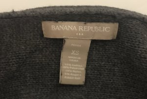 Banana Republic Knitted Sweater dark grey-anthracite