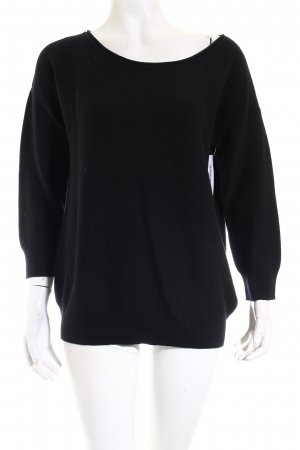 Banana Republic Pullover schwarz Casual-Look