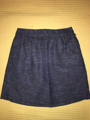 Banana Republic Tulip Skirt dark blue-white polyester