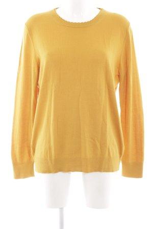 Banana Republic Crewneck Sweater light orange casual look