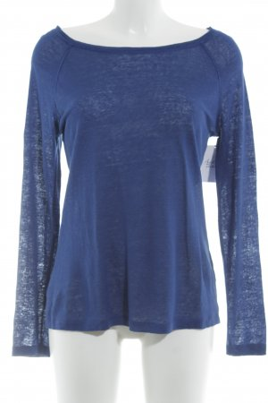 Banana Republic Rundhalspullover blau Casual-Look