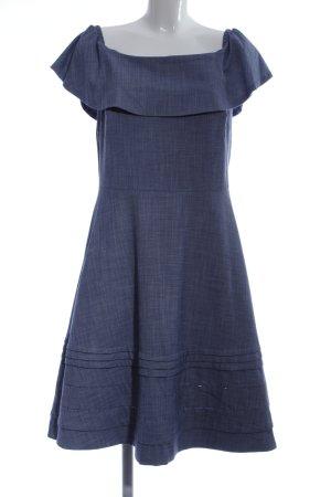 Banana Republic Off-The-Shoulder Dress blue casual look